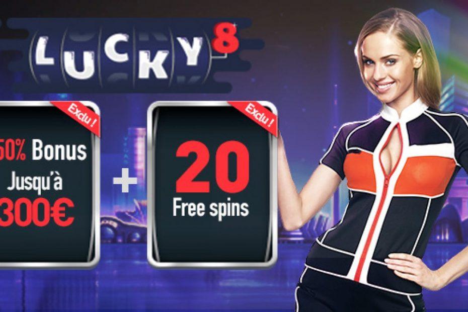 Espace VIP Lucky 8 casino, pour ne rien rater des avantages !